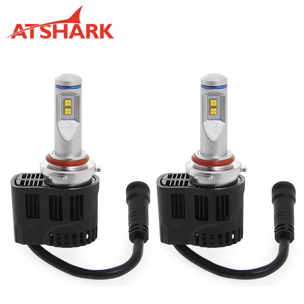 P655 9006 HB4 Atshark 110W 10400LM LED Headlight Ki