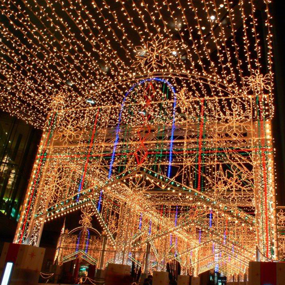Waterproof Dimmable 300 LEDs 99 ft Copper Wire LED String Lights for ...