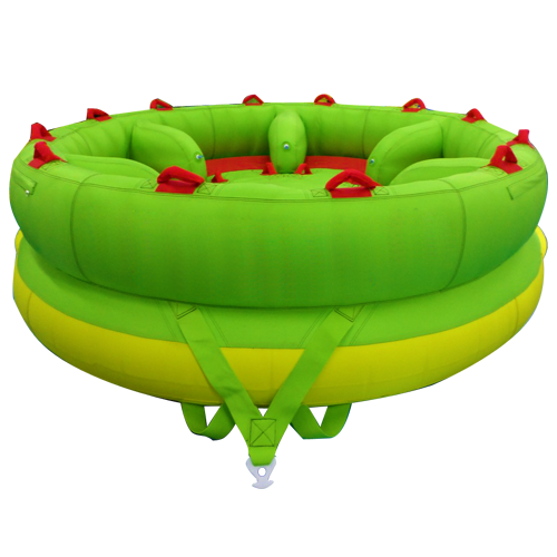 UFO INFLATABLE TOWABLE TUBE CAPACITY FOR 5 PERSONS