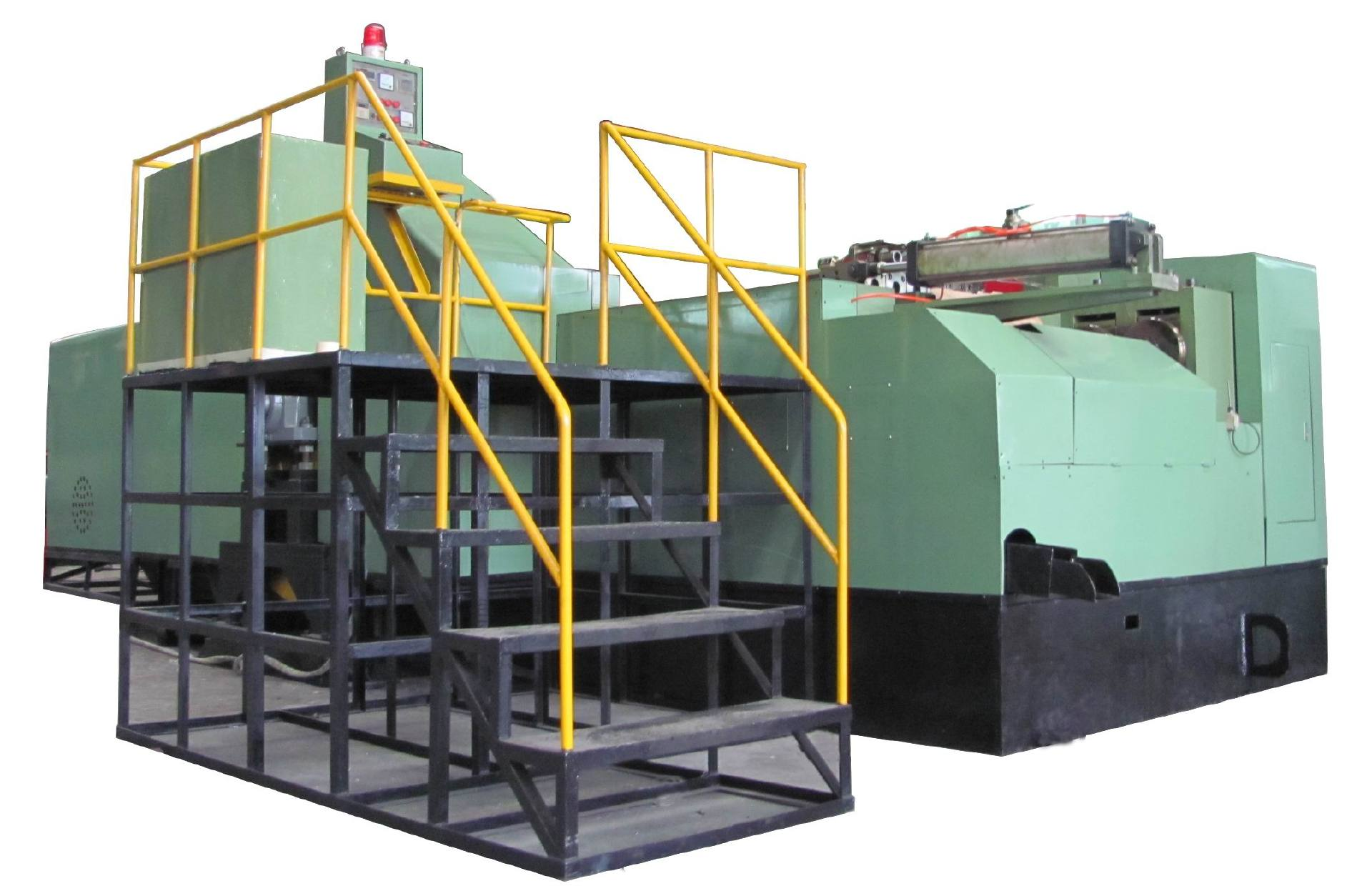 High speed and energy saving cold heading machine