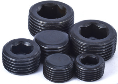 Inch Tapered pipe plugs DIN906 SCM435, cold header.