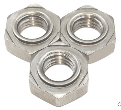 Hexagon weld nut DIN929 C1015/304