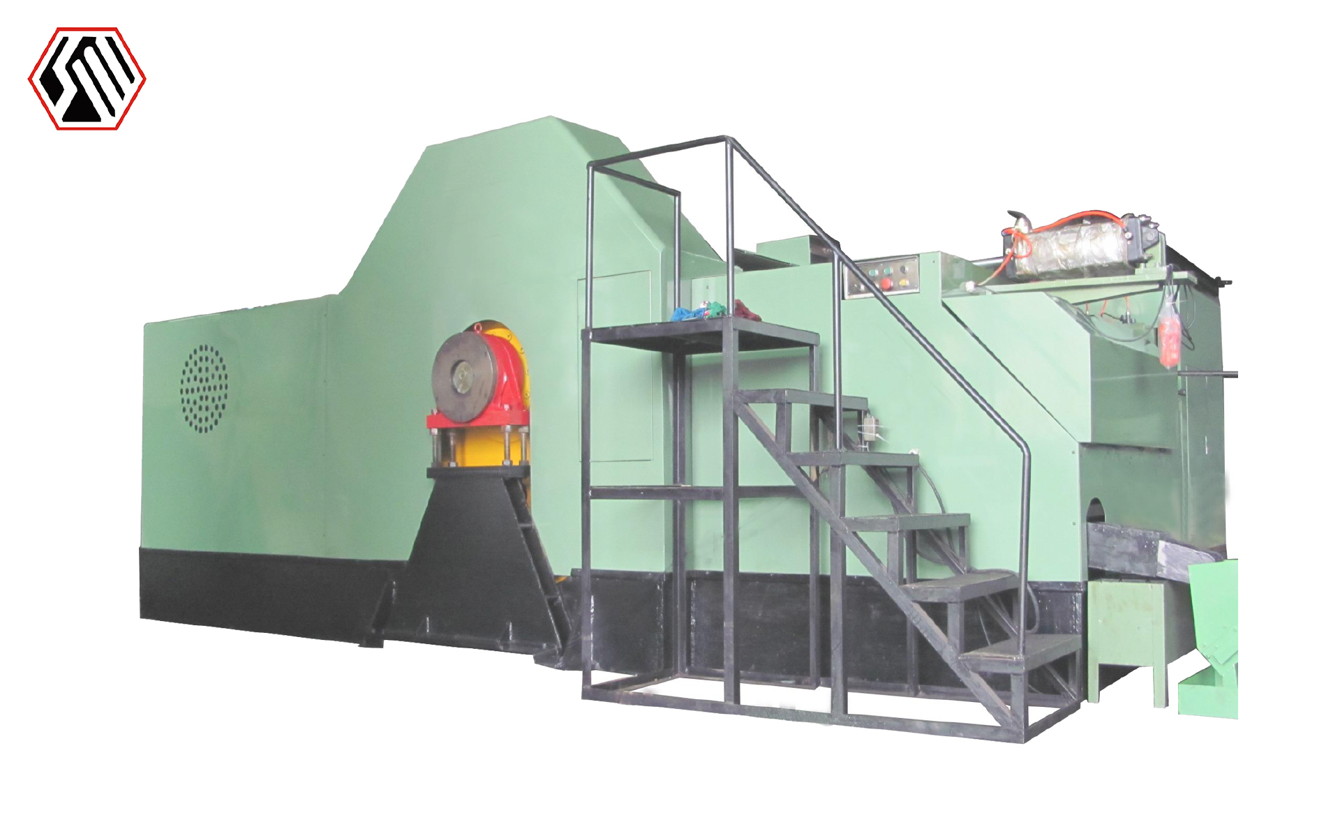 cold heading machine for nut bolt making