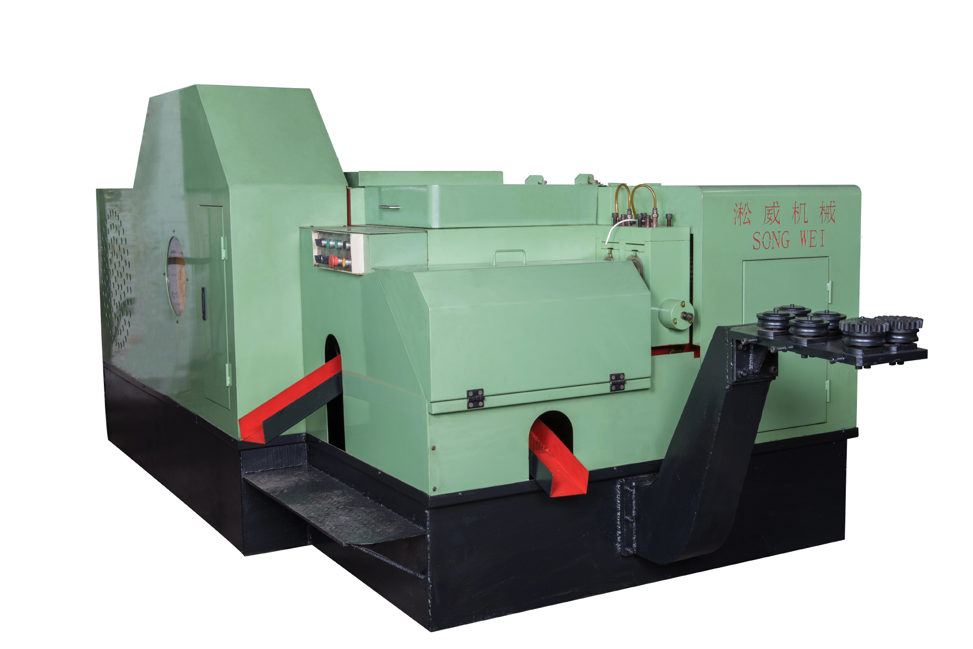 cold heading machine with high efficiency