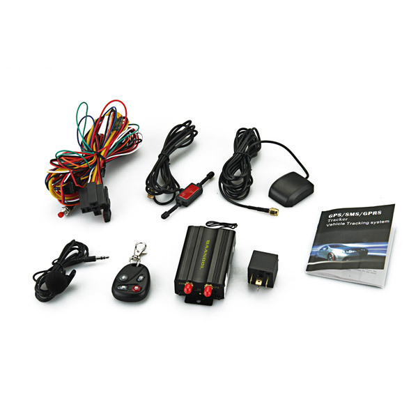 Car Vehicle Real Time SMS SOS Tracker Alarm Tracking TK103B