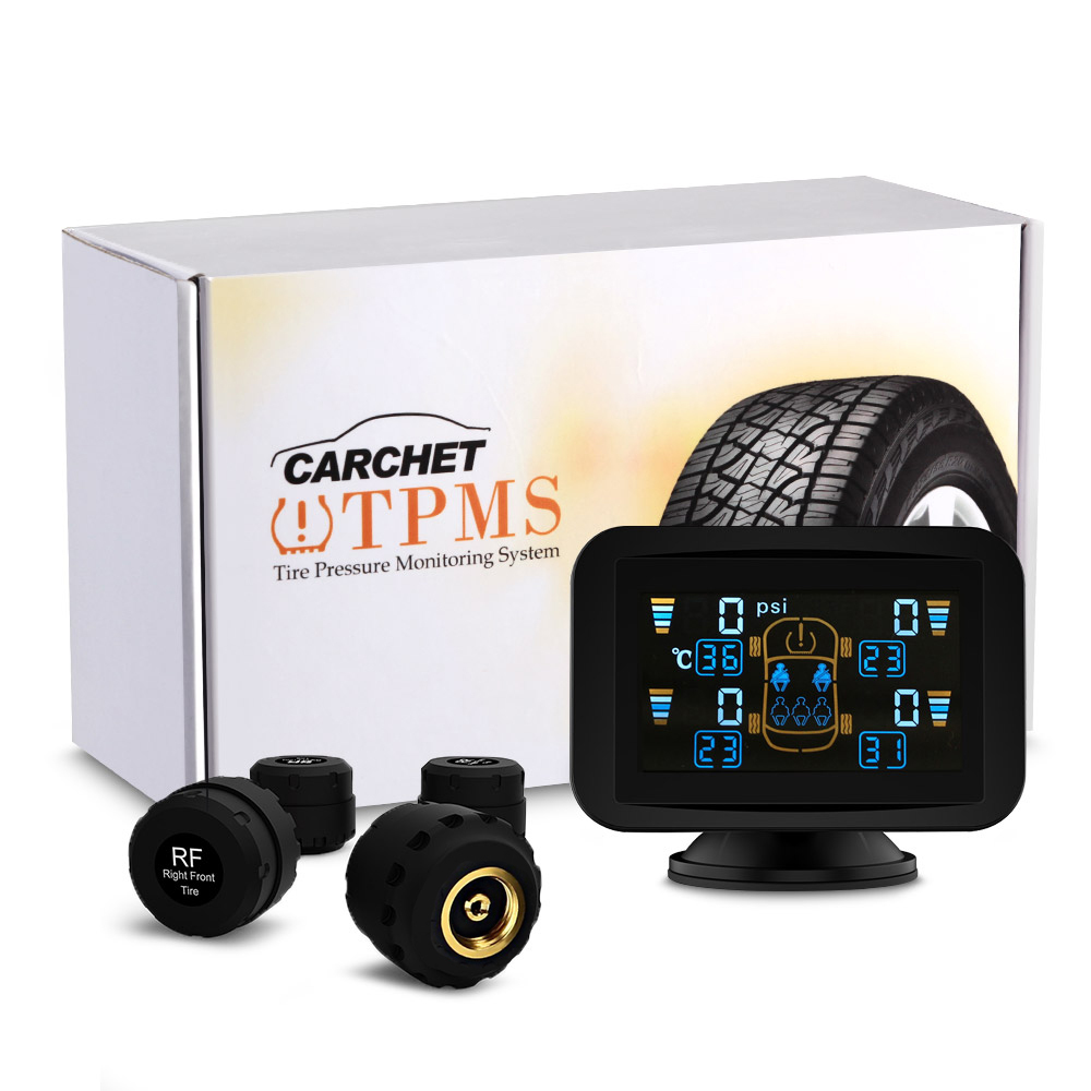 CARCHET TPMS Tire Pressure Monitoring Intelligent System+4 E