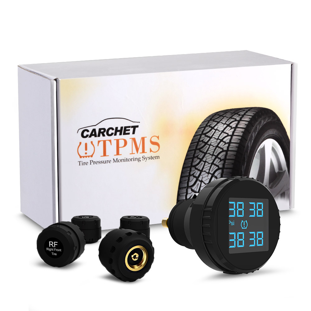 CARCHET TPMS Tire Pressure Monitoring System with 4 External