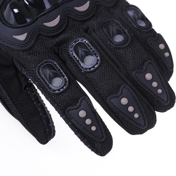 Pair Full Finger Gloves Cycling Bicycle Motorcycle Outdoors