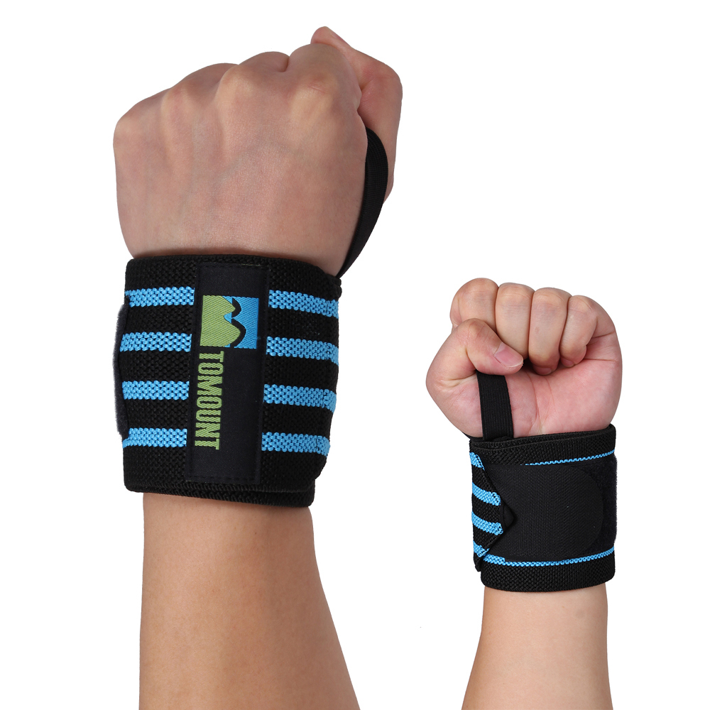 TOMOUNT Hand Wrist Braces for Weightlifting, Chin-up, bar, o