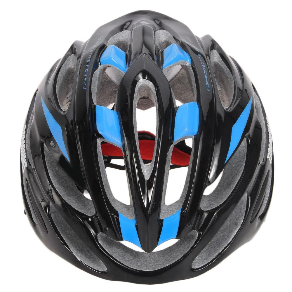 TOMOUNT Casque de Vélo Helmet 56-63cm Avec Visière(code:XMUO