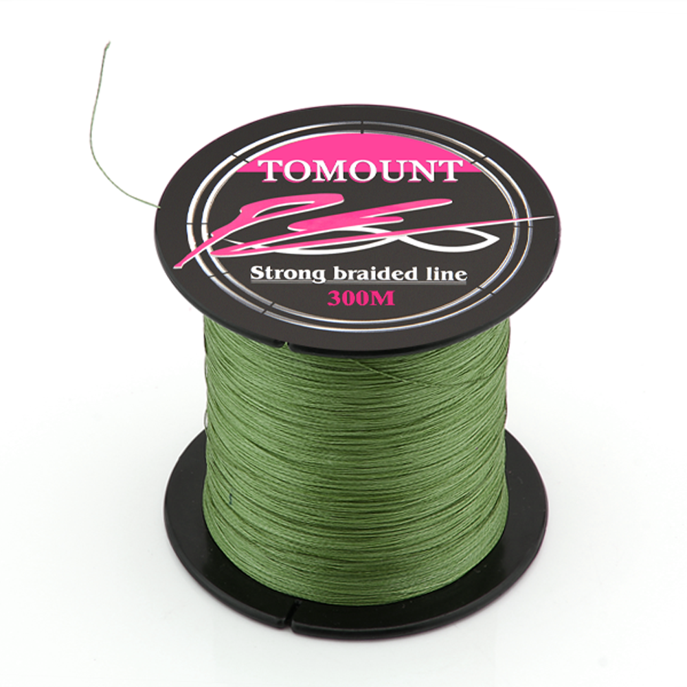 TOMOUNT Spool Strong Braid Braided Fishing Fish Line 300M 20
