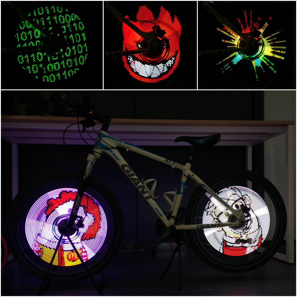 TOMOUNT LED colore velo pneu lumiere APP DIY(code:8BXF7SN6,