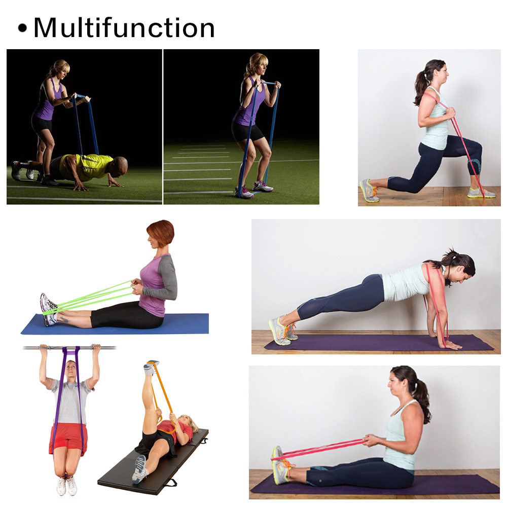 Resistance Bands, TOMOUNT Excercise Bands Crossfit Strength