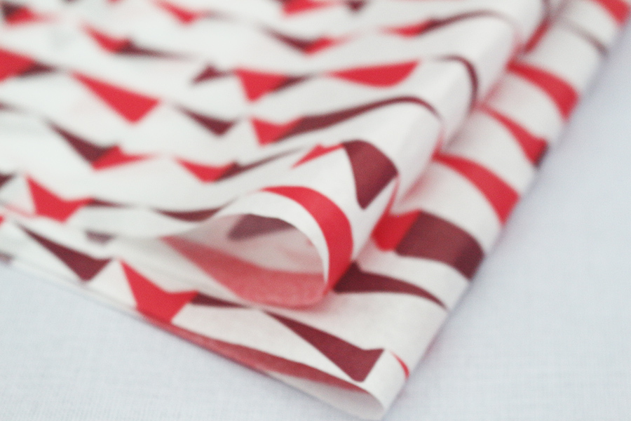 Custom printing tissue paper gift wrapping paper with logo