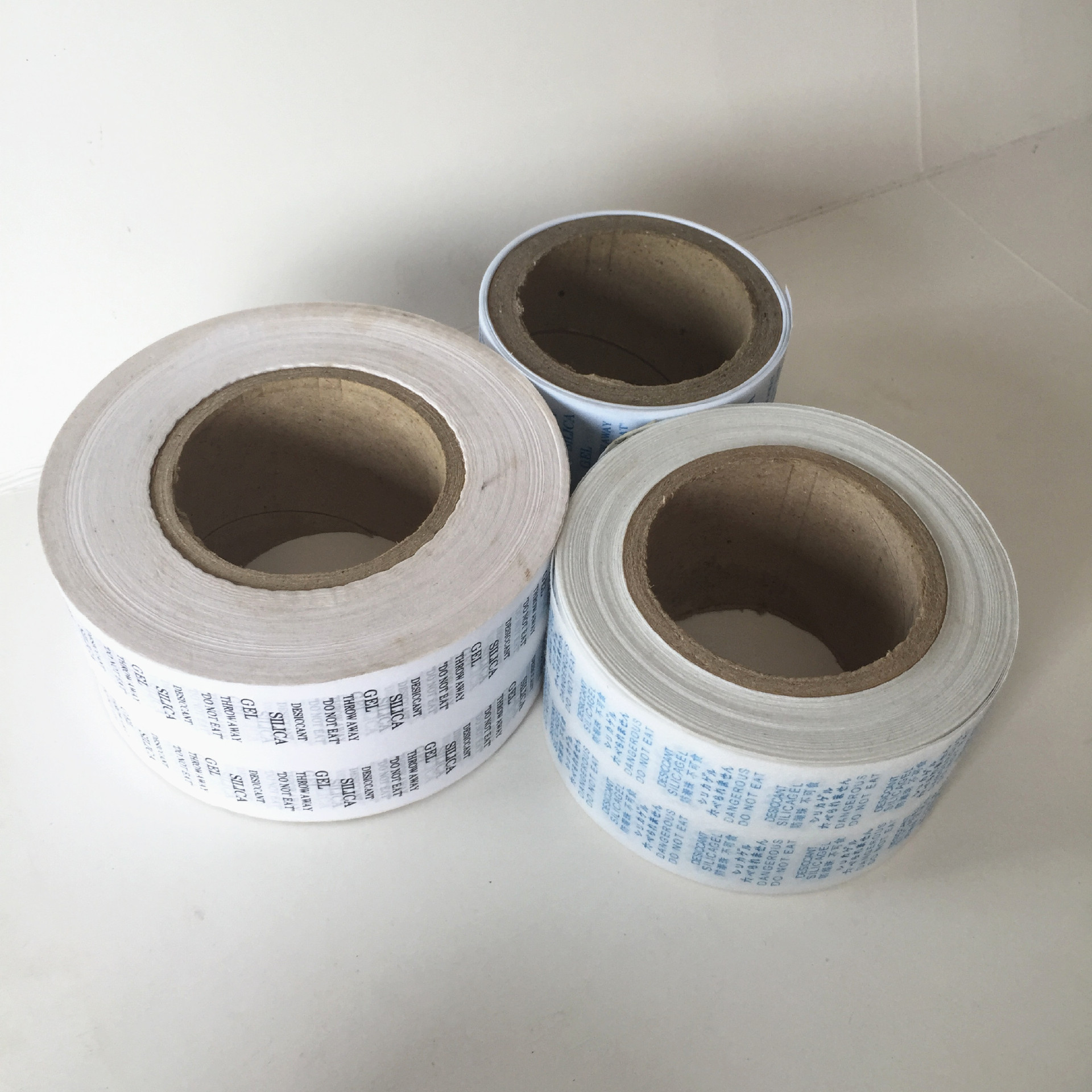 Customized Printing Cotton Paper For Silica Gel Desiccant Pa