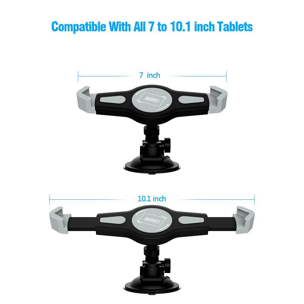 7 - 10.1 Inch Tablets Car Mount Holder Stand