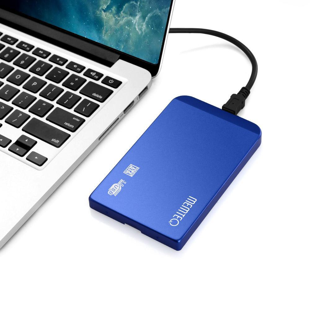MEMTEQ 2,5 pollici disco rigido SATA Enclosure USB 3.0 HDD e
