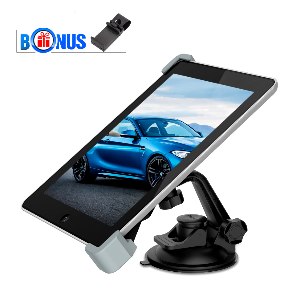 Holder Tablet dell'automobile, supporto MEMTEQ parabrezza cr