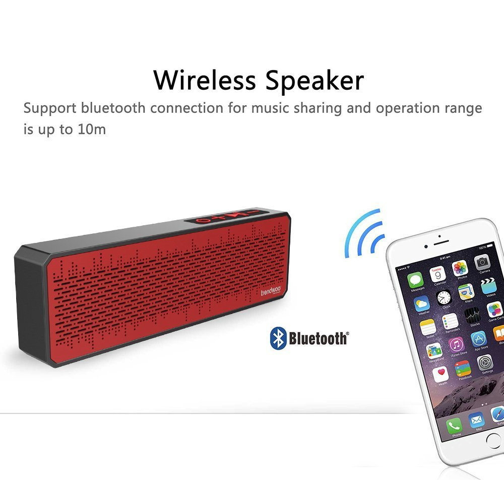 Trendwoo Portable sans fil Wifi étanche Pocket Bluetooth Spe