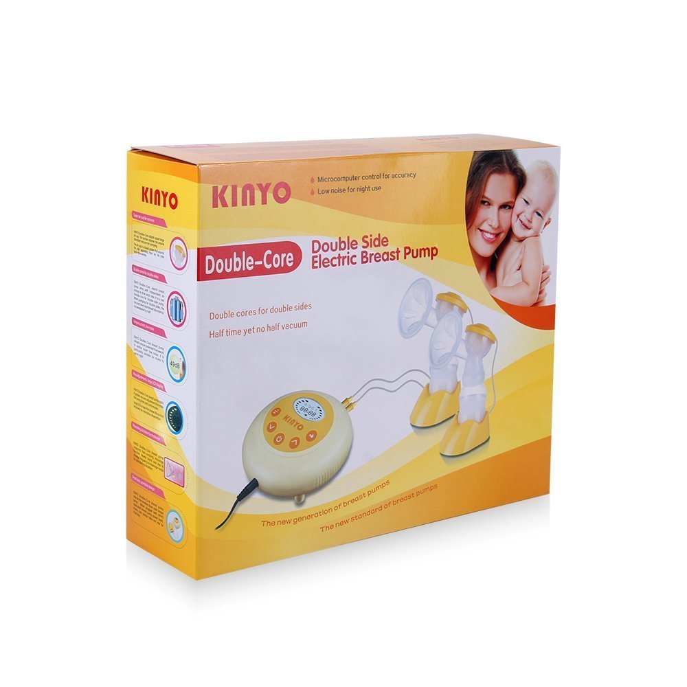 Kinyo FDA Dual-Core Bilateral Breast Pump Electric Milkpump