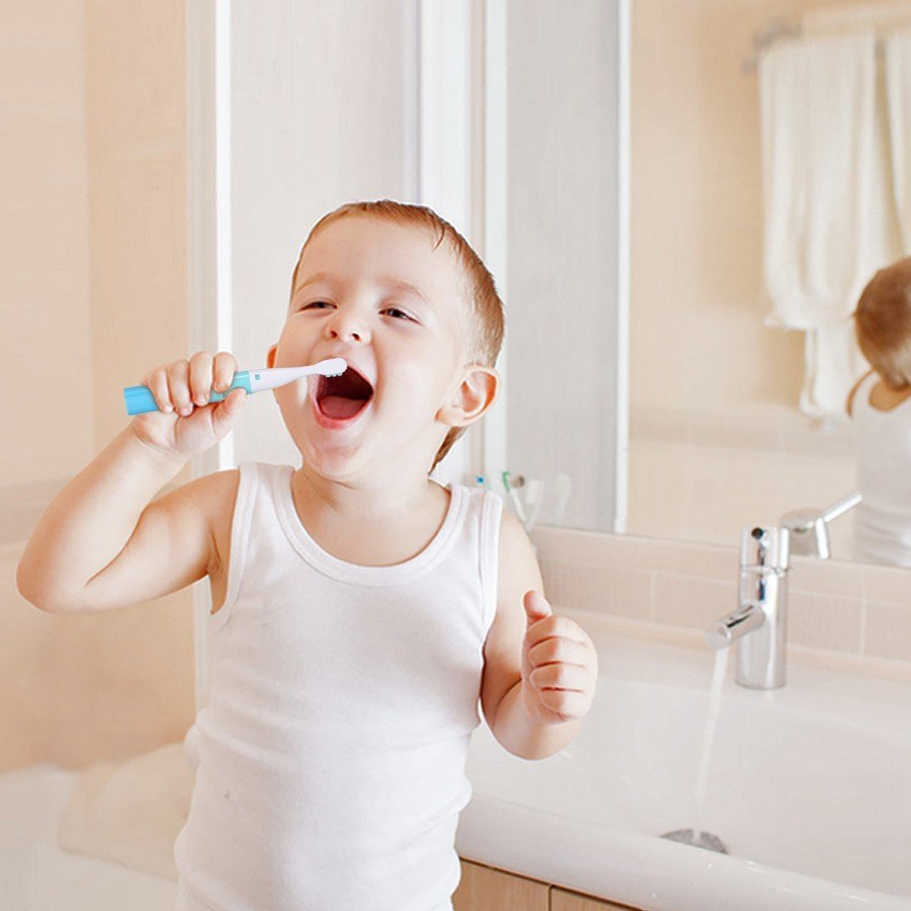 Saky Two Mode Sonic Battery Toothbrush Toddler Electric Toot