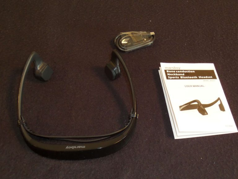 Marsboy conduction osseuse Bluetooth Headset Review de drago