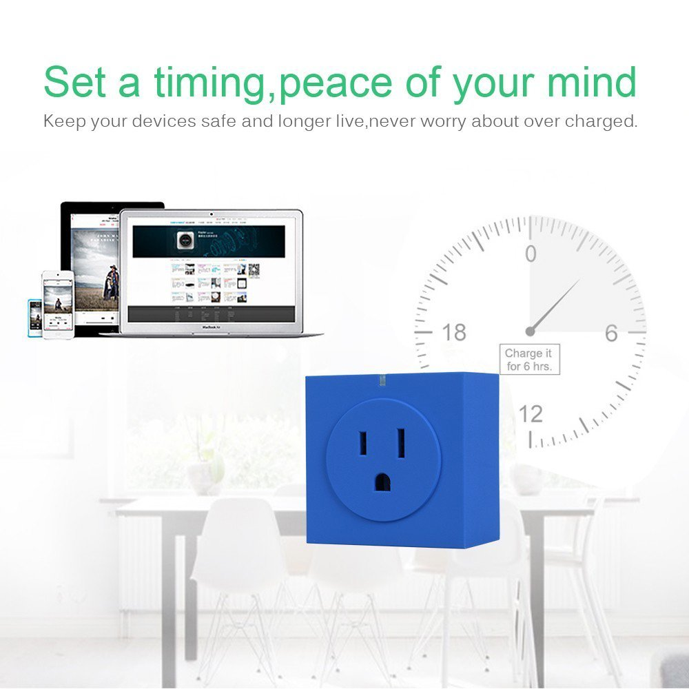 Wifi Smart Plug Intelligent Stecker Wireless Switch mit APP