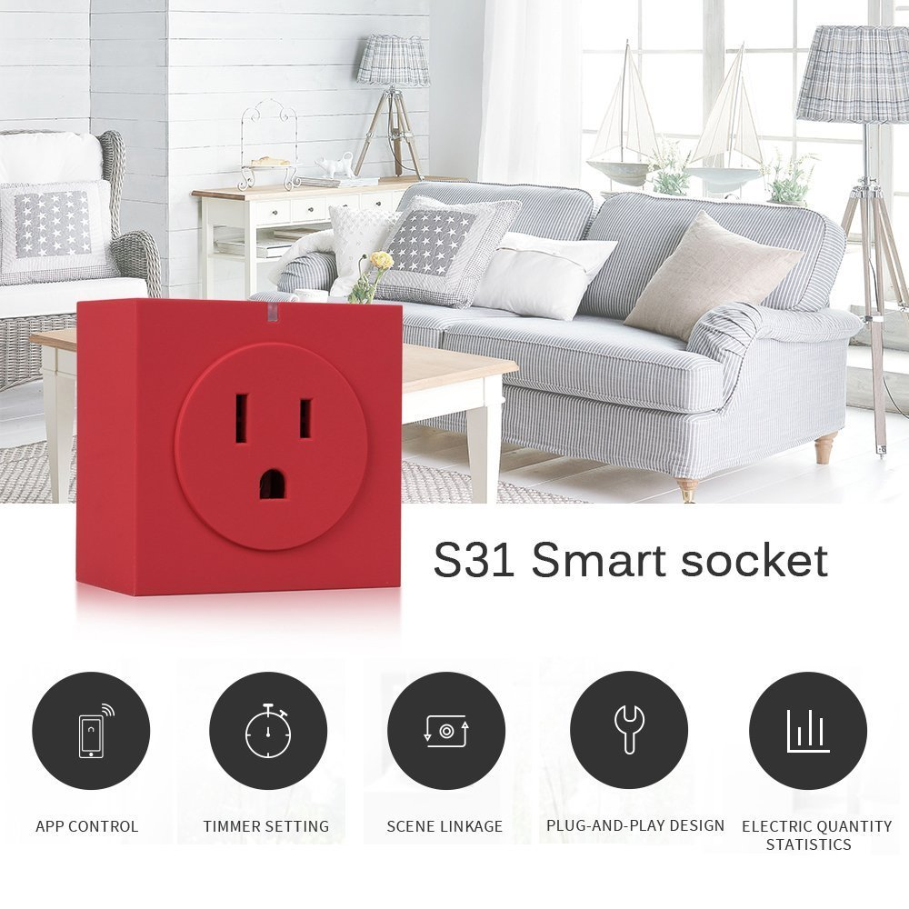 Wifi Smart Plug Commutateur intelligent Branchez sans fil av
