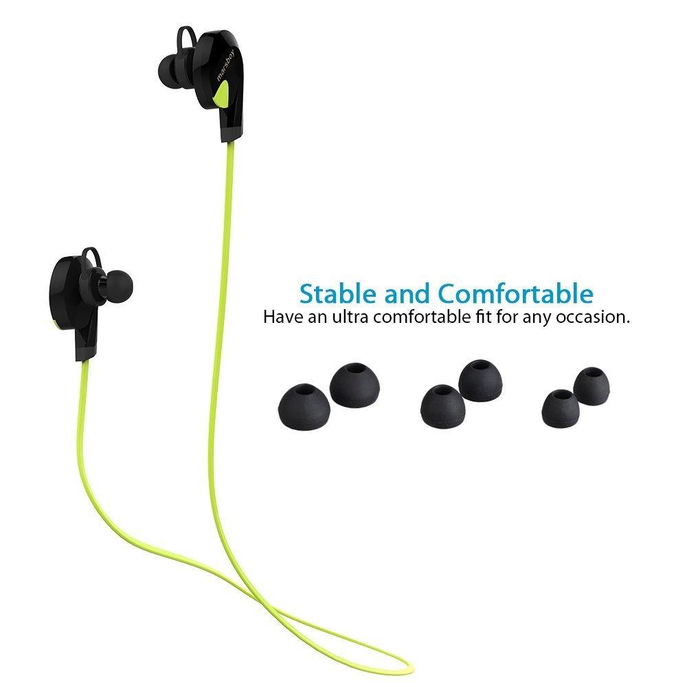 Marsboy CI142 auriculares Bluetooth de prueba de sudor (verd