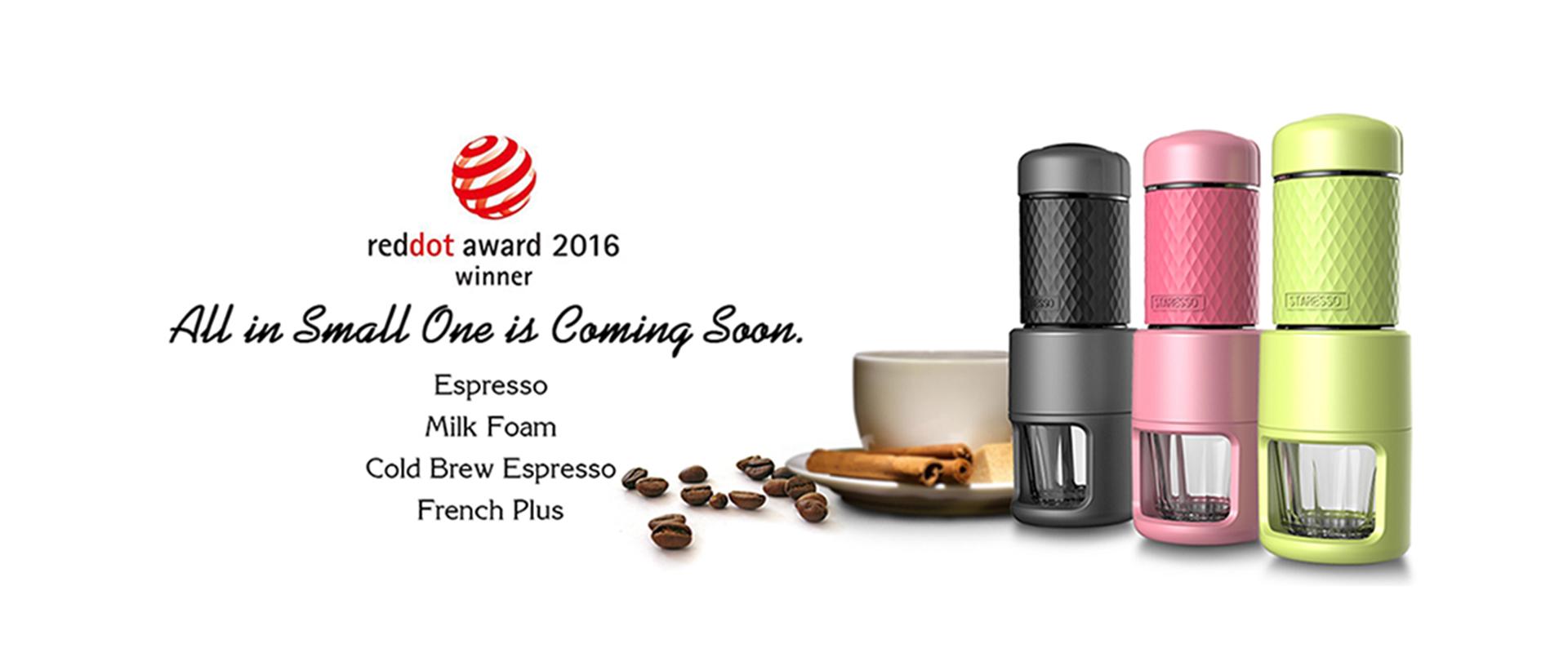 STARESSOエスプレッソコーヒーメーカー、Oneのポータブルコーヒーメーカーマシンのすべて。