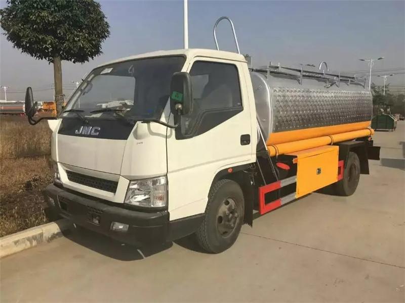 Camion cisterna petroliera della Cina 4T Isuzu