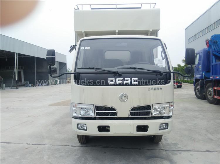 Mobil gıdalar kantini olarak kullanılan Dongfeng mobil gıda