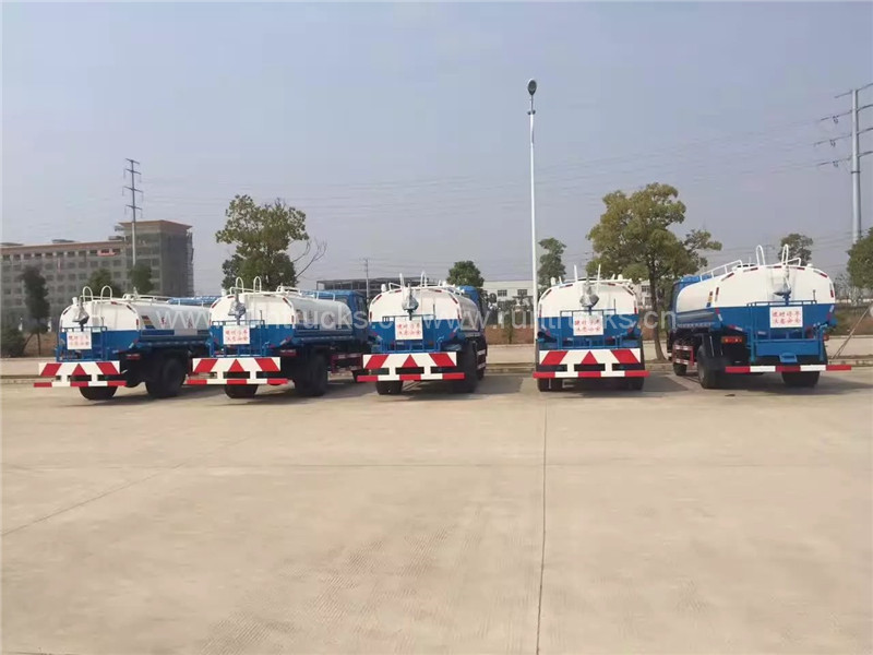 Dongfeng 10T water bowser, 10CBM 10000L water truck