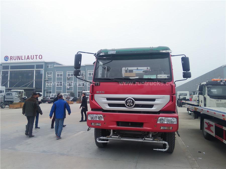 Camion de suppression de poussière de Sinotruk monté canon d