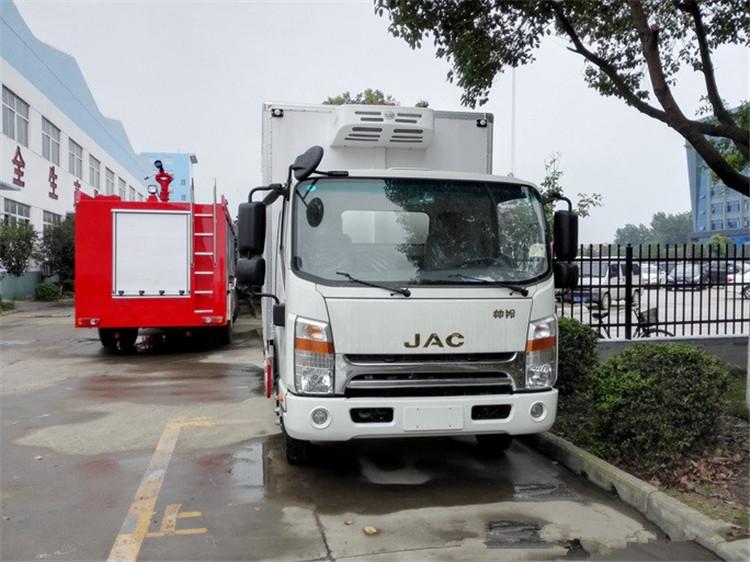 Caminhões Frigoríficos JAC 5 Ton, Freezer Refrigerator Truck