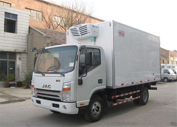 JAC 5 Ton Kühlauflieger, Gefrierschrank Kühlschrank LKW