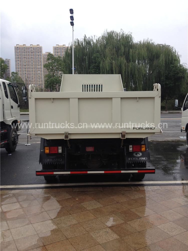China Foton 5Ton roda roda de todas as rodas de 6 rodas Cami