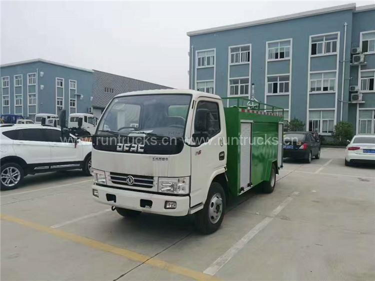 Dongfeng camion cisterna con pompa camion antincendio e cami