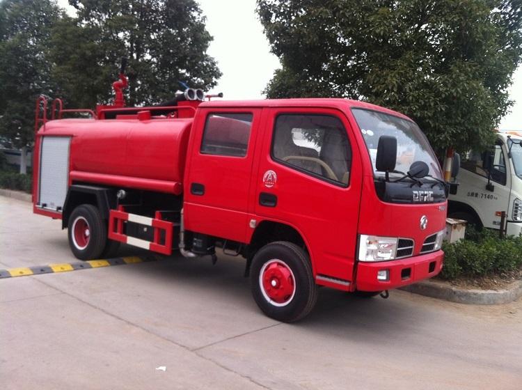 China rotes Wasser Feuerwehr LKW