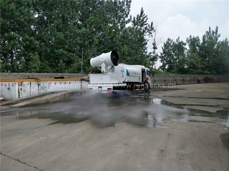 China Dongfeng tianjin 8 cbm polvo de agua polvo camión