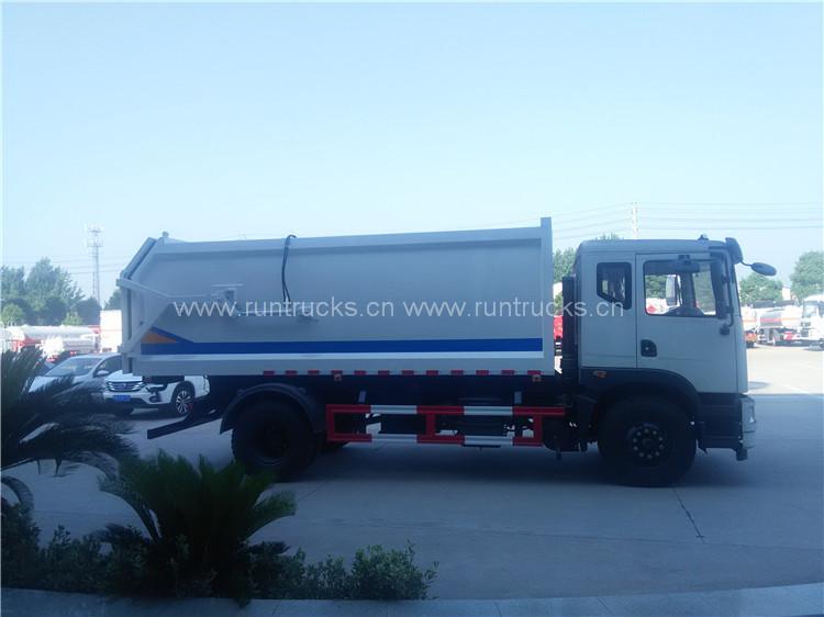 Çöp Toplama ile birlikte 15 cbm dongfeng yerleştirme çöp kam