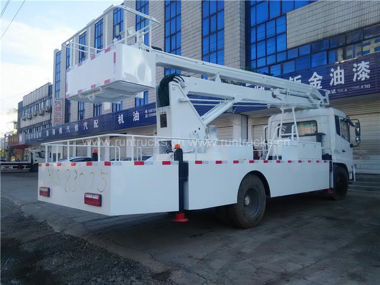 DongFeng tianjin camion de grande altitude