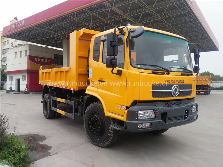 Dongfeng 10T camion ribaltabile camion ribaltabile