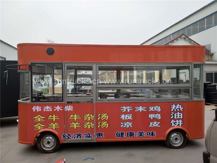 Camion électrique électrique chinois pour la vente d'aliment