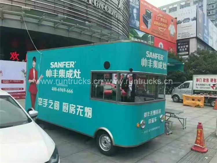 브랜드 이미지 디스플레이 트럭, 브랜드 문화 선전 차량