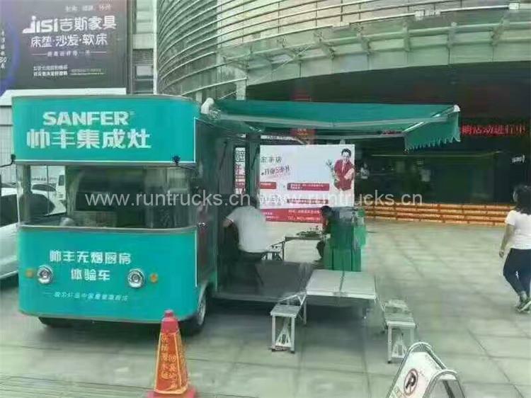 Camion d'affichage d'image de marque, véhicule de propagande