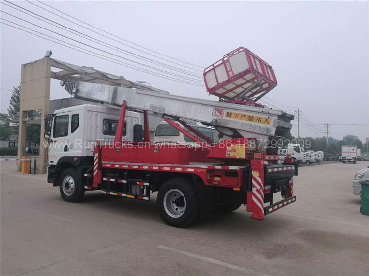 Dongfeng D9 45 metrelik Yüksek irtifada çalışma platformu ka