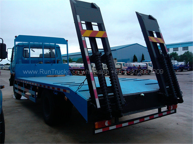 東風153 190 HPフラットベッドトラック