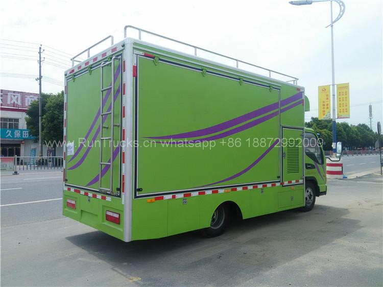 중국 JAC 120 마력 모바일 음식 트럭