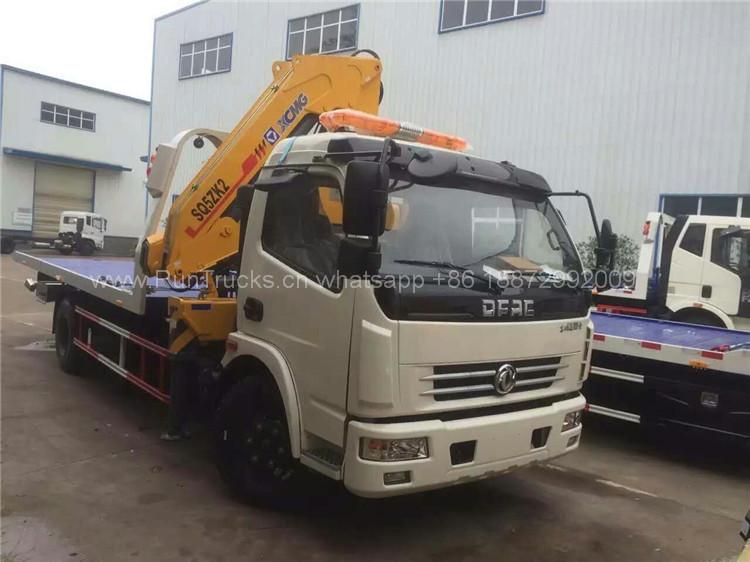 Yeni Kamyon Takdirı - 3T vinçli Dongfeng enkaz aracı